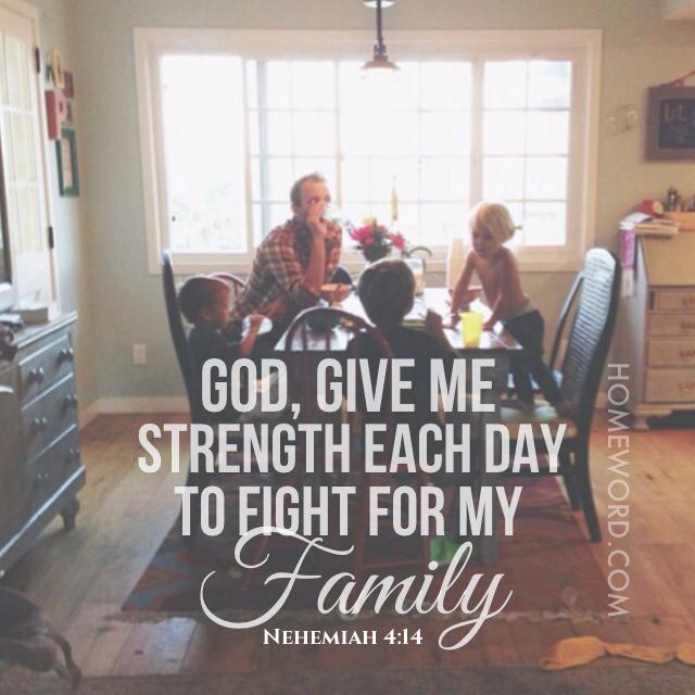 Nehemiah 4:14 from Pinterest