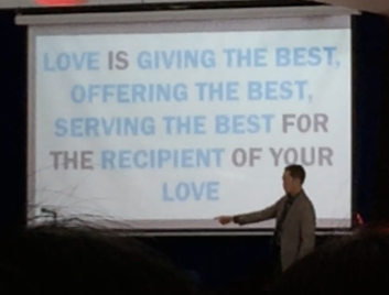 "Francis Kong on ""Love"""