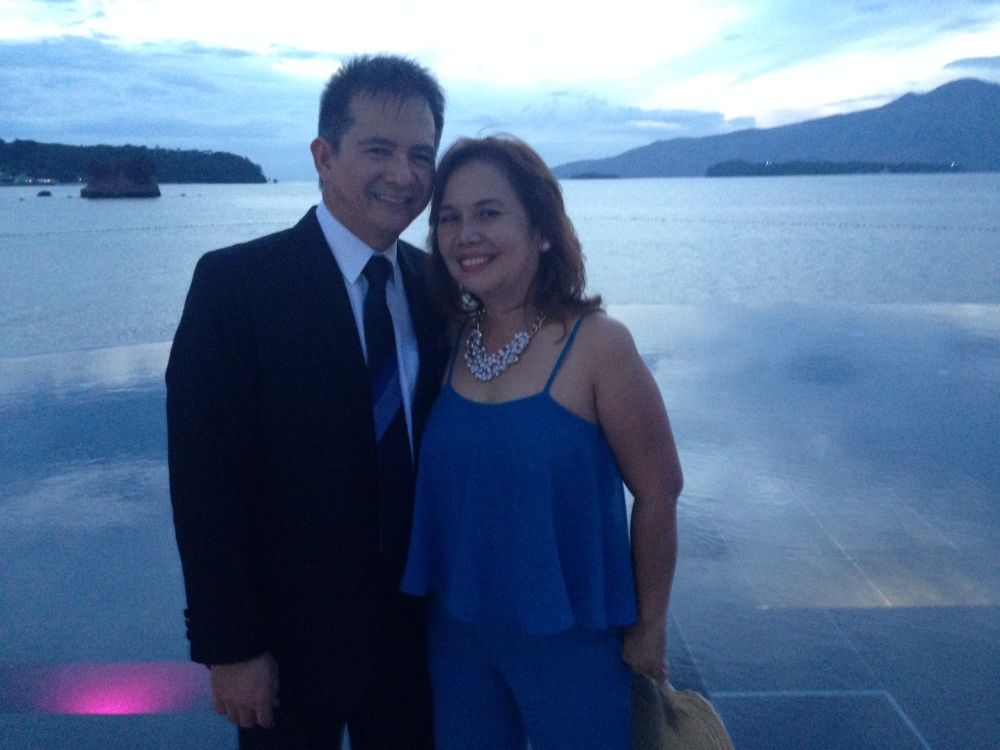 Dra. Annabelle Robles with husband, CCF Bulacan's Pastor Ed Robles