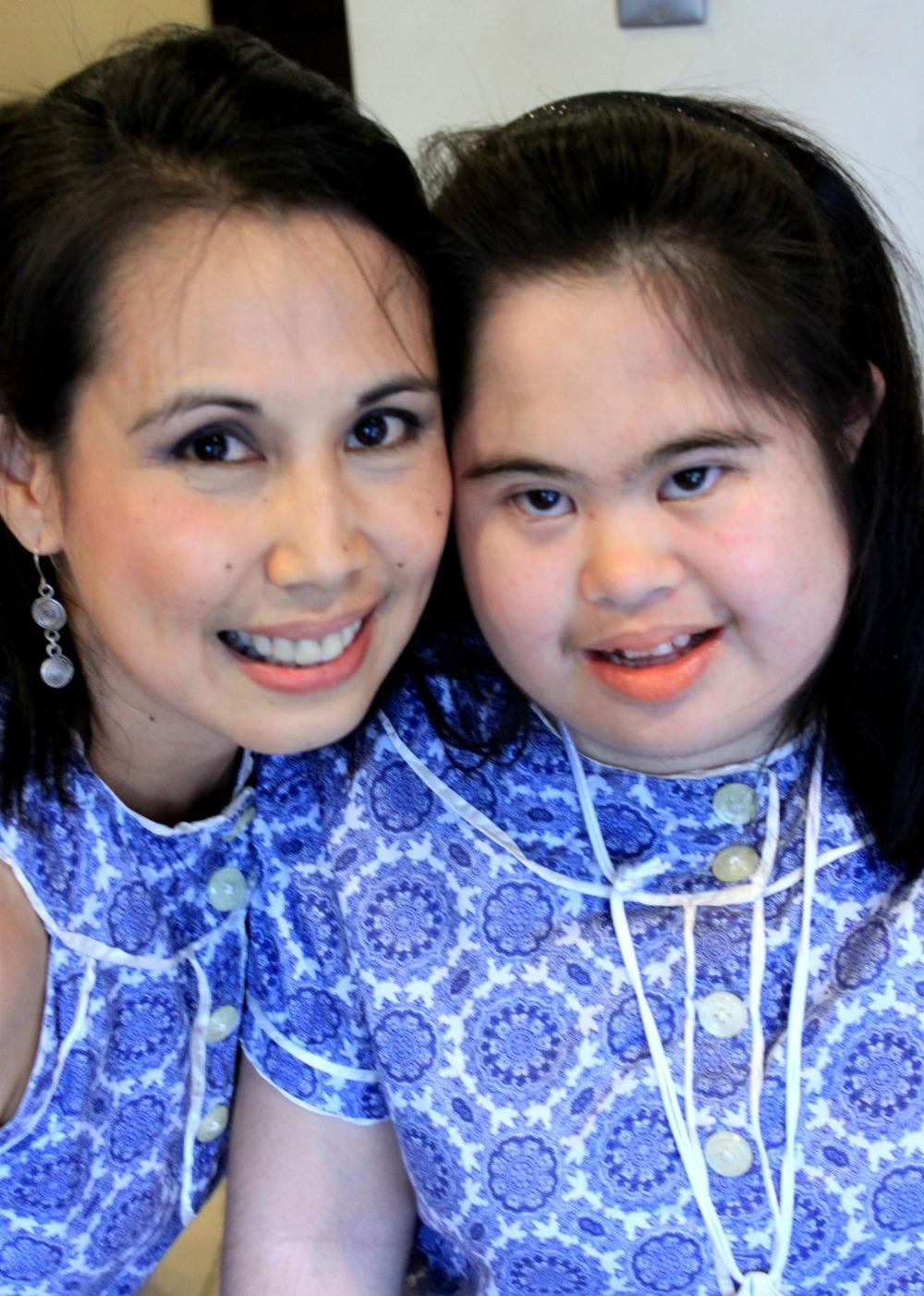 Malu and her daughter, Clarissa
