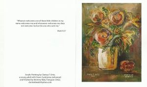 Clarissa and Malu's greeting card