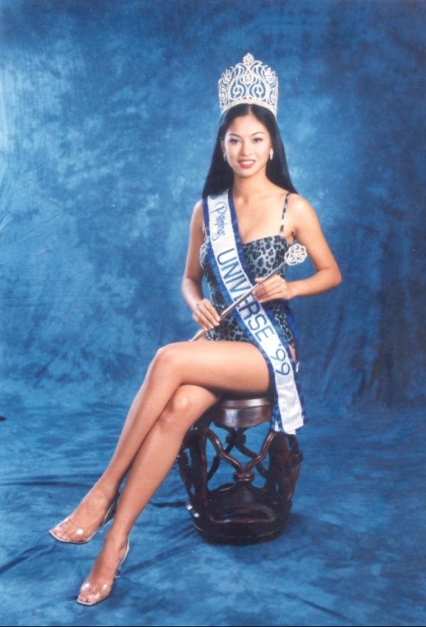 Miriam during her Miss Universe stint