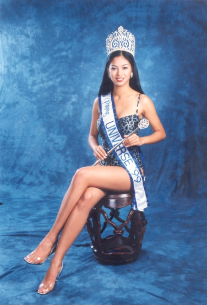 Miriam during her Miss Universe stint