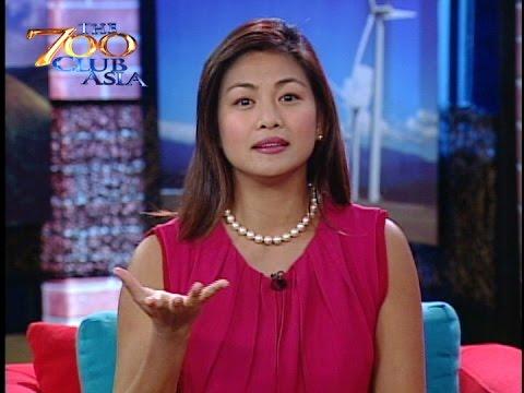 Miriam as 700 Club Host