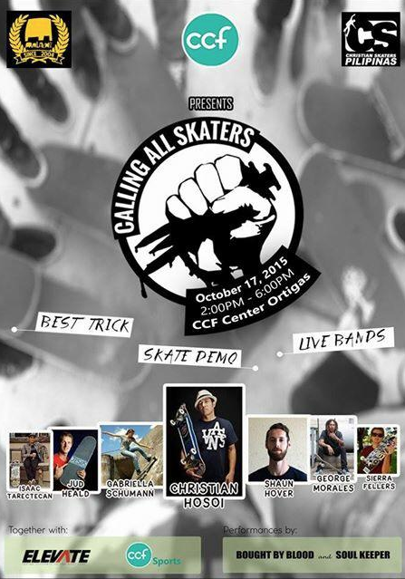 CALLING ALL SKATERS IN THE PHILIPINES from www.mylifeonboard.net
