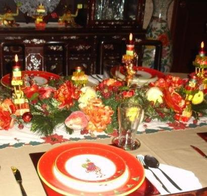 "This is from Adele's ""Work-Tablescapes"" Album with her caption: Work is worship and is difficult apart from the grace of God. It doesn't matter if you have pleased people but rather what you 've done pleases God and is what He wants you to do. What you're doing today is proof of who you are. You cannot do these things apart from the grace of God. And is not without effect what you're doing should be powered by the grace of God. Is it what God wants you to do."
