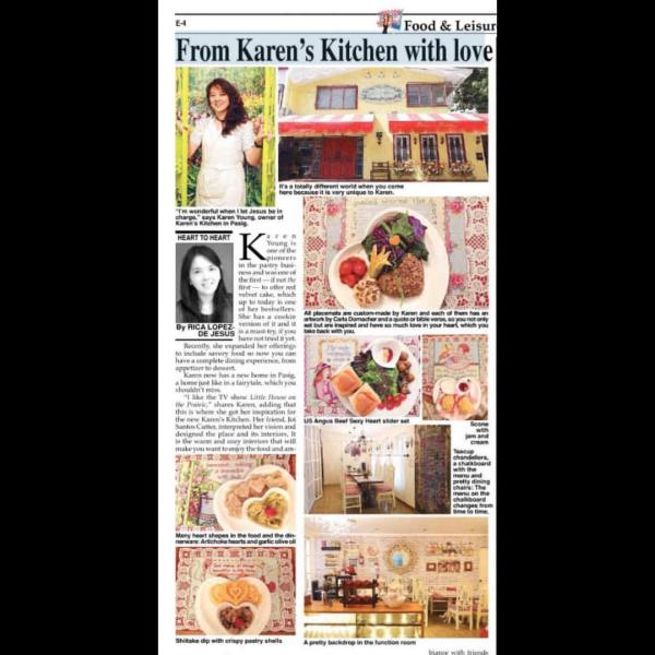 phil star heart to heart rica de jesus from karens kitchen with love