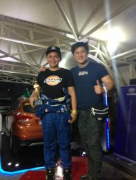 Atoy with Gio Rodriguez