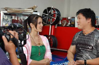 Atoy with Megan Young