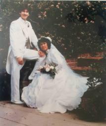 Martin and Beth Sanders' wedding