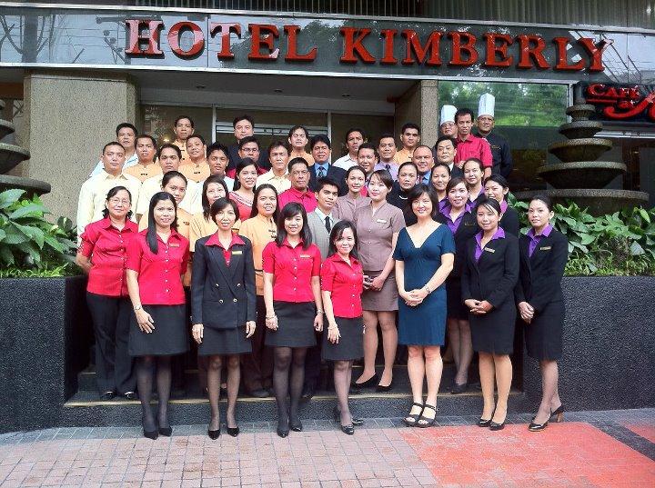 hotel kimberly staff w natalie ng