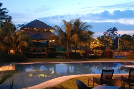 Hotel Kimberly Swimming Pool Night