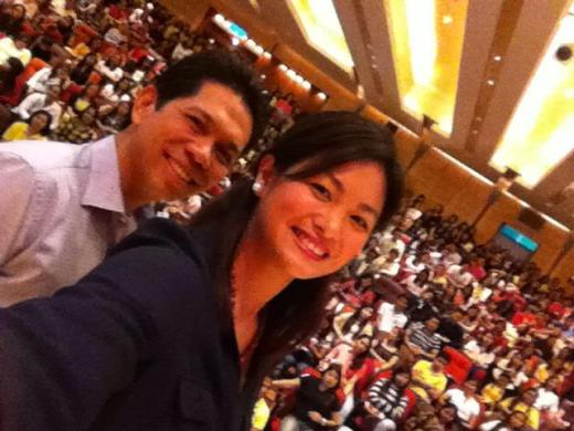 Ardy and Miriam in Taiwan