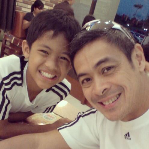 Anthony with Benj