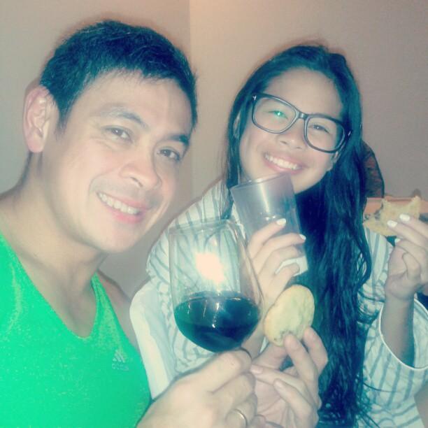 Anthony with Ella