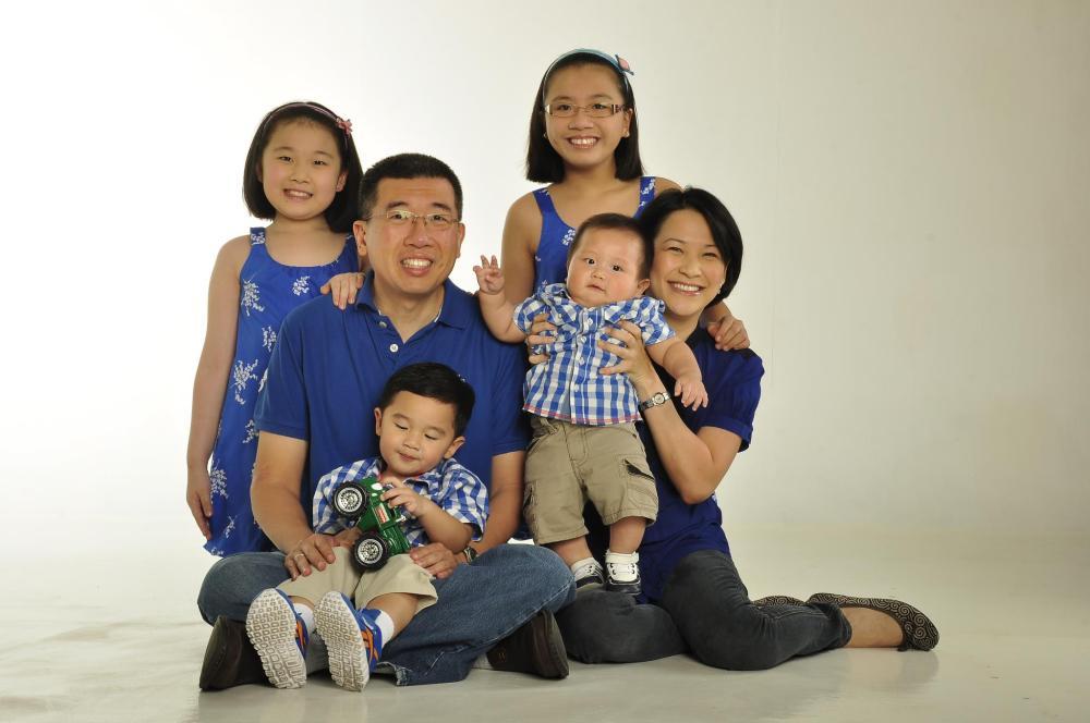glenn jackie family blue