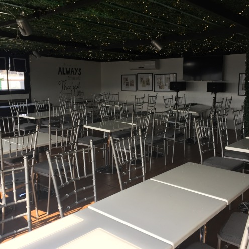 Function Room on 3rd floor gets opened on Sundays