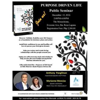 1 marianne purpose driven seminar