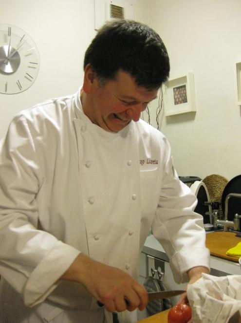 Chef Josetxo Lizarreta