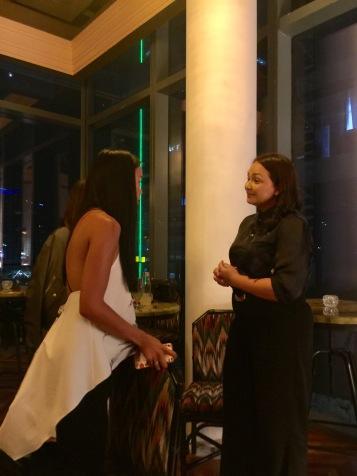 Nika with Donita Rose