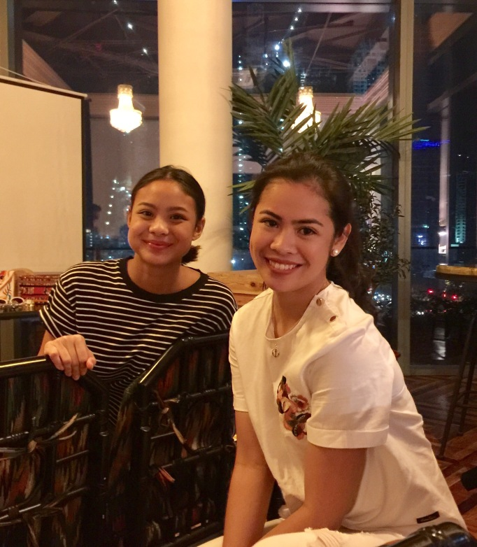 Hannah and Ella Pangilinan