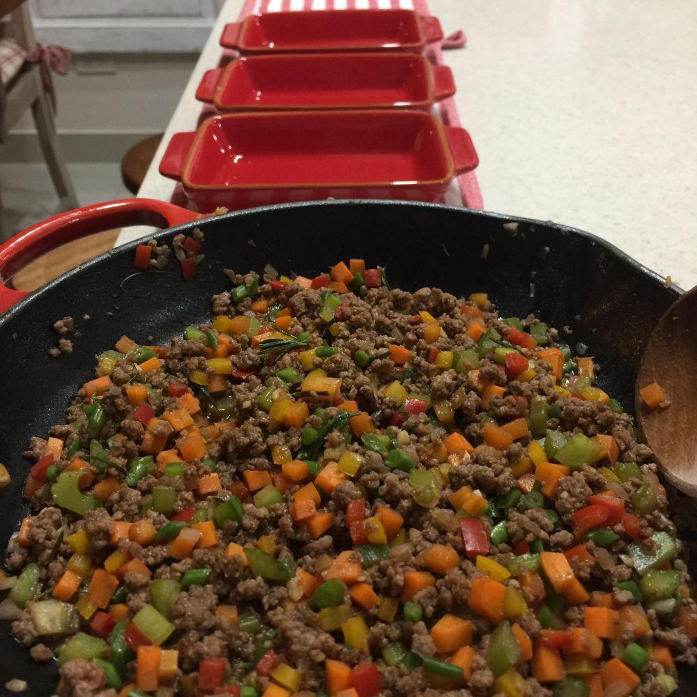 bits meat casserole divide