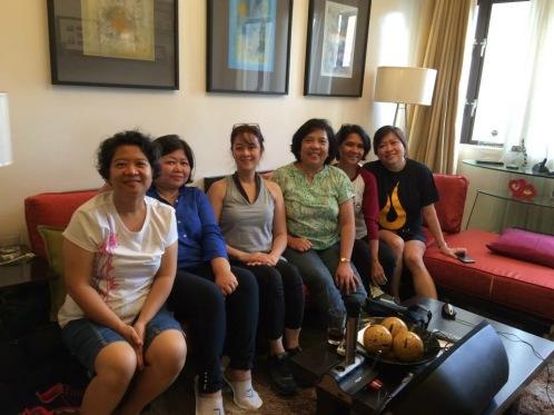 Marlene, Cherry, Olive, Rhona, Abet