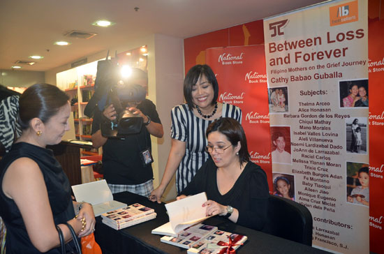 cathy book signing