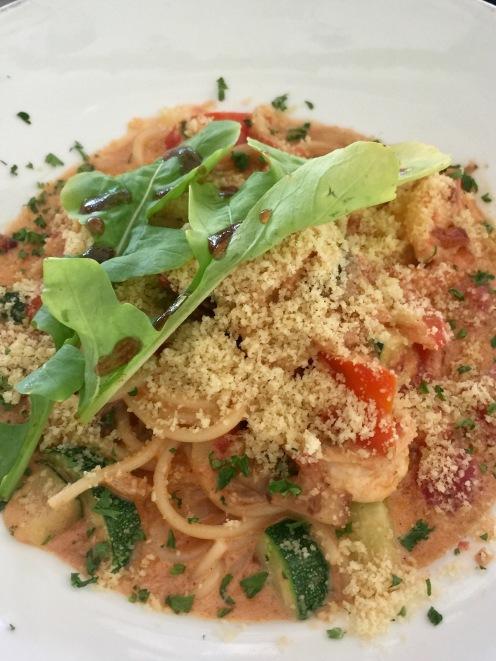 Shrimp Pasta with Creamy Tomato Sauce