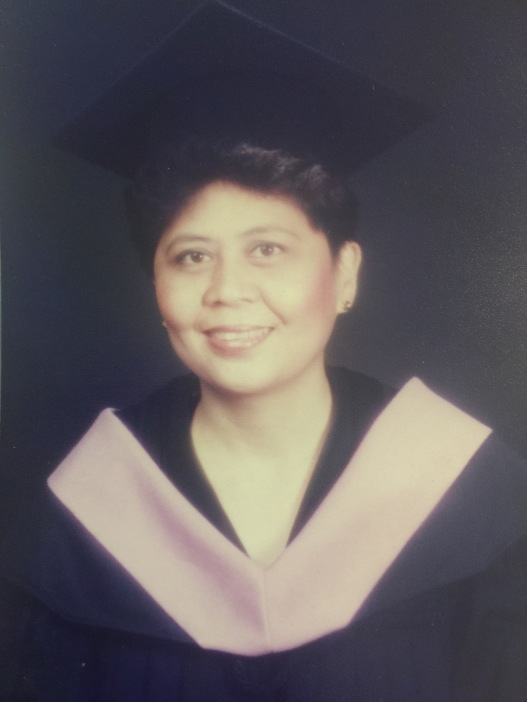 Teacher Fe's Graduate Studies photo