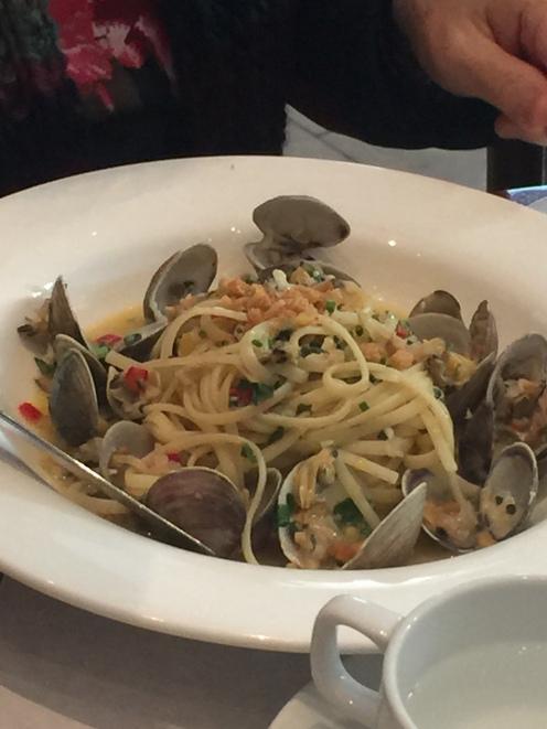 Pasta Vongole-very good