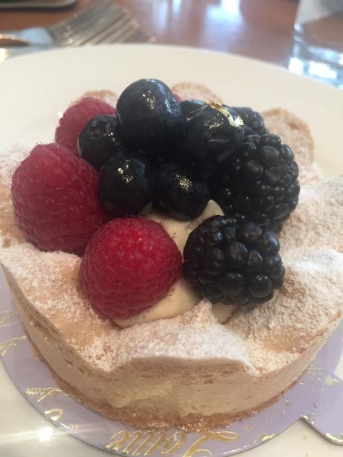 Fruit Tart- I loved this