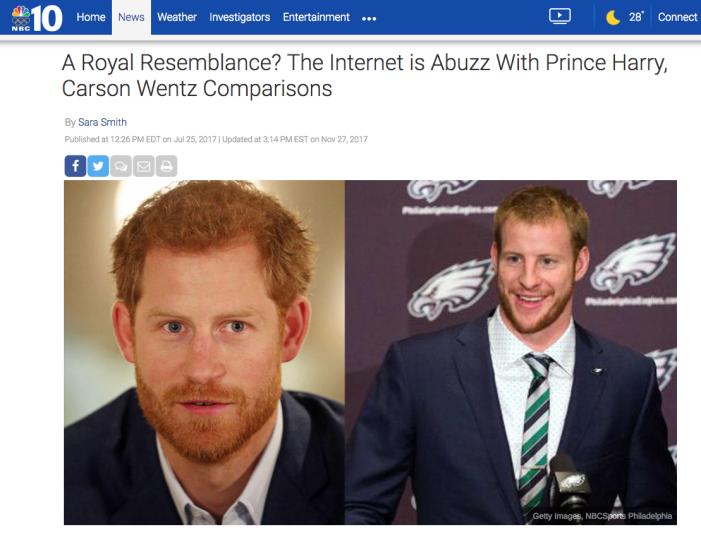 prince harry carson wentz 1