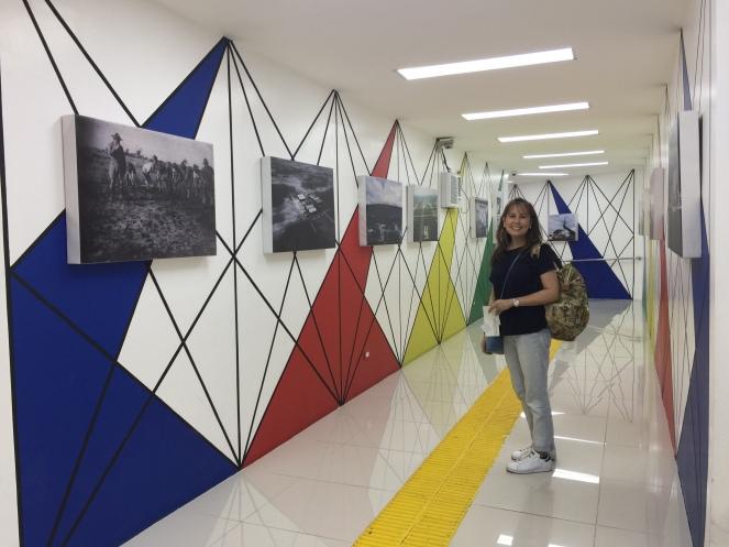 Clark Airport Hallway Exhibit