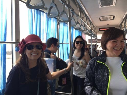 Bus Ride to Plane