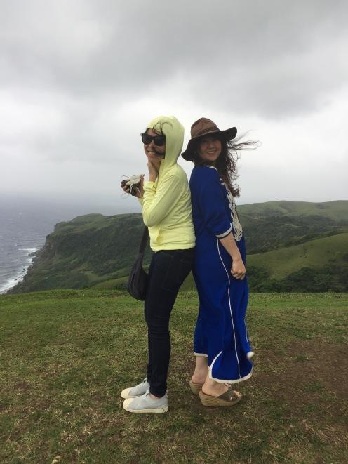 Joanne and me freezing on Racuj a Payaman (Un-Marlboro Country)