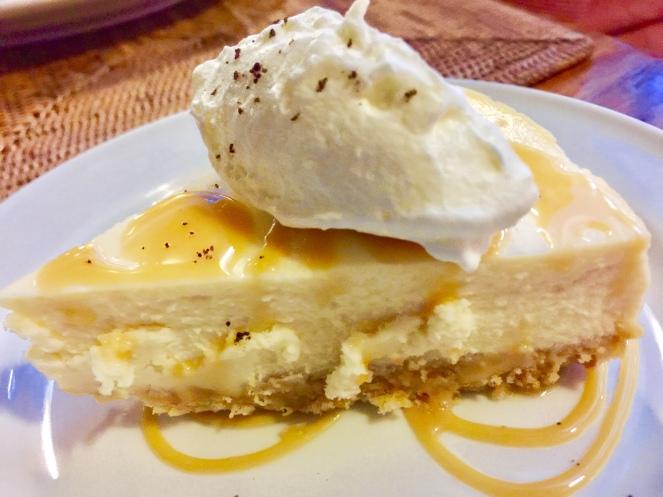 Caramel Cheesecake. I liked this.